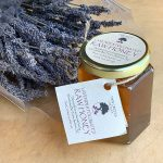 Twin Creeks Lavender Honey and dried lavender